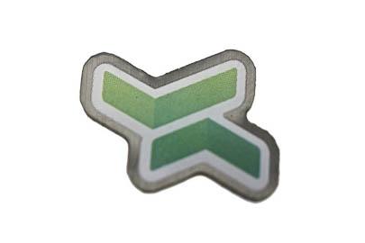 Offsettryckt pin för Samtrafiken